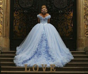 beautiful, dress, and princess image