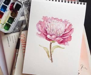 art, arts, and drawing image