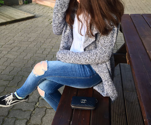 cardigan, comfy, and cozy image