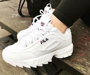 fashion, Fila, and mode image