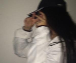 girl, blurry, and tumblr image