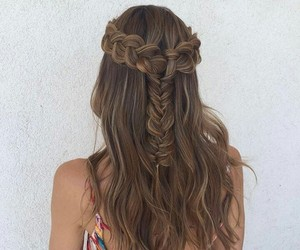 braids, hairstyle, and inspo image