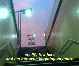 life, grunge, and joke image