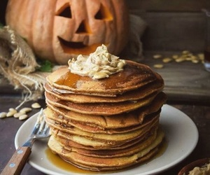 autumn, pancakes, and fall image