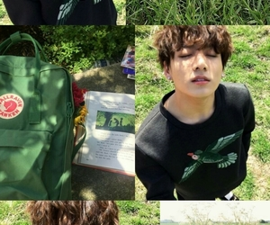 aesthetic, green, and kpop image