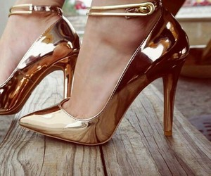 fashion, high, and shoes image