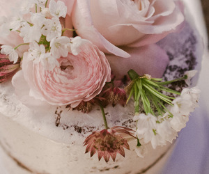 beautiful, cake, and pink image
