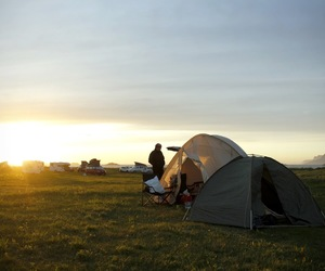 camp, camping, and hiking image