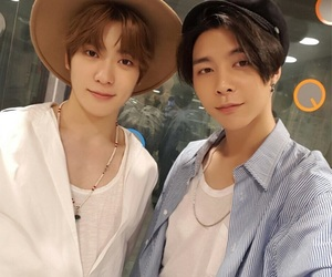 johnny, nct, and selca image