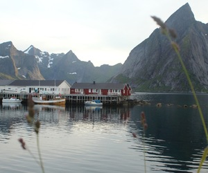 boats, camping, and norway image