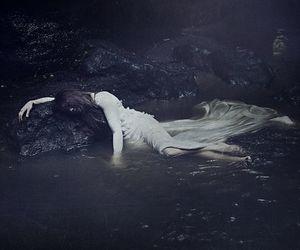 water and dark image