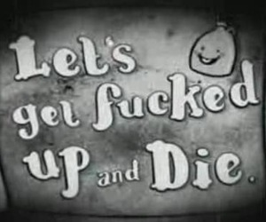 :), die, and fucked up image