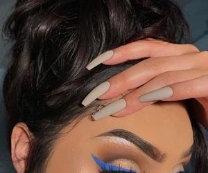 beauty, eye makeup, and luxury image
