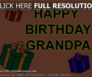 birthday, happy birthday, and grand father image