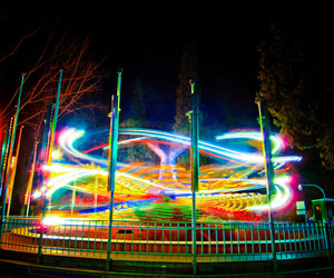 amusement, color, and exposure image