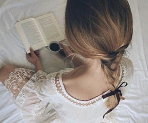 bed, braided, and dress image