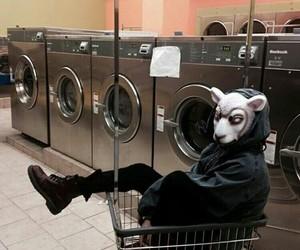 grunge, alternative, and mask image