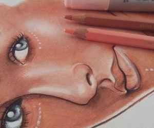 drawing, dibujo, and pencils image
