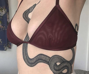 tatto, tatuaje, and serpiente image