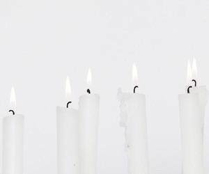 aesthetics, candles, and pure image