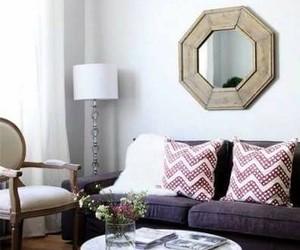 home decor, living room, and sofa image