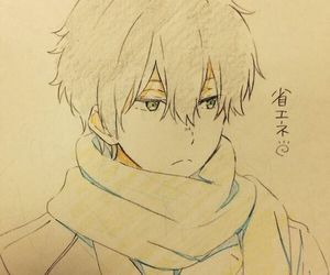 anime, hyouka, and oreki image
