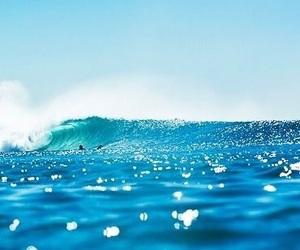 beach, cerulean, and ocean image