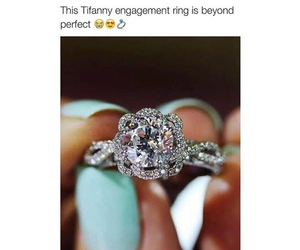 ring, tiffany, and couple image