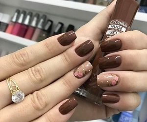 manicure, cute, and nails image