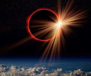 eclipse, sun, and moon image