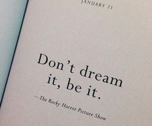 Dream, quotes, and book image