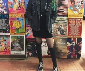 grunge, alternative, and outfit image