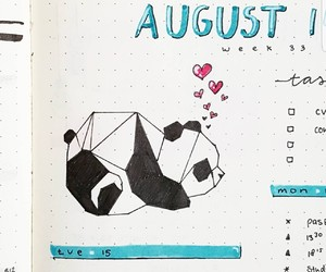doodle, planner, and bullet journal image