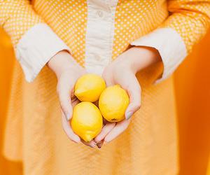 lemon, orange, and yellow image