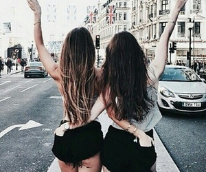 friends, hair, and bff image