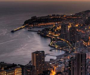 city, monaco, and light image