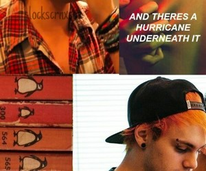 michael clifford and michael clifford orange image