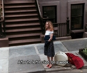 sex and the city, quotes, and Carrie Bradshaw image