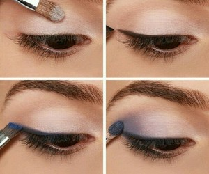 diy, makeup, and eyes image