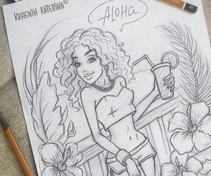 Aloha, art, and character image