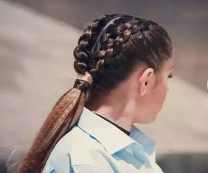 belleza, hair, and moda image