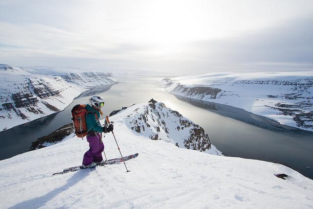 adventure, radical, and ski image
