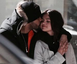 selena gomez, the weeknd, and couple image