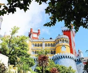 palace, portugal, and sintra image
