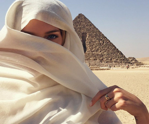 egypt, girl, and beauty image