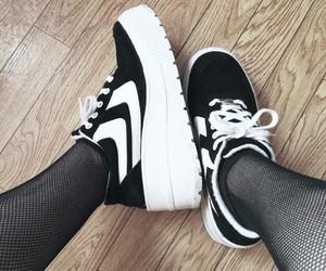 aesthetic, black & white, and fashion image