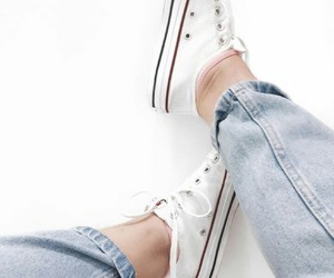 allstar, convers, and jeans image