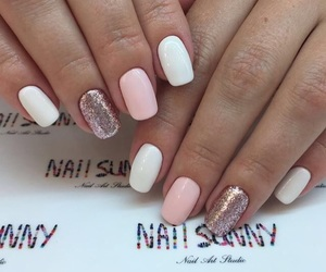 fashion, nail art, and nails image