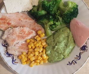 balance, food, and healthy image