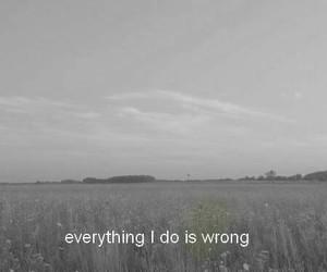 sad, wrong, and grunge image